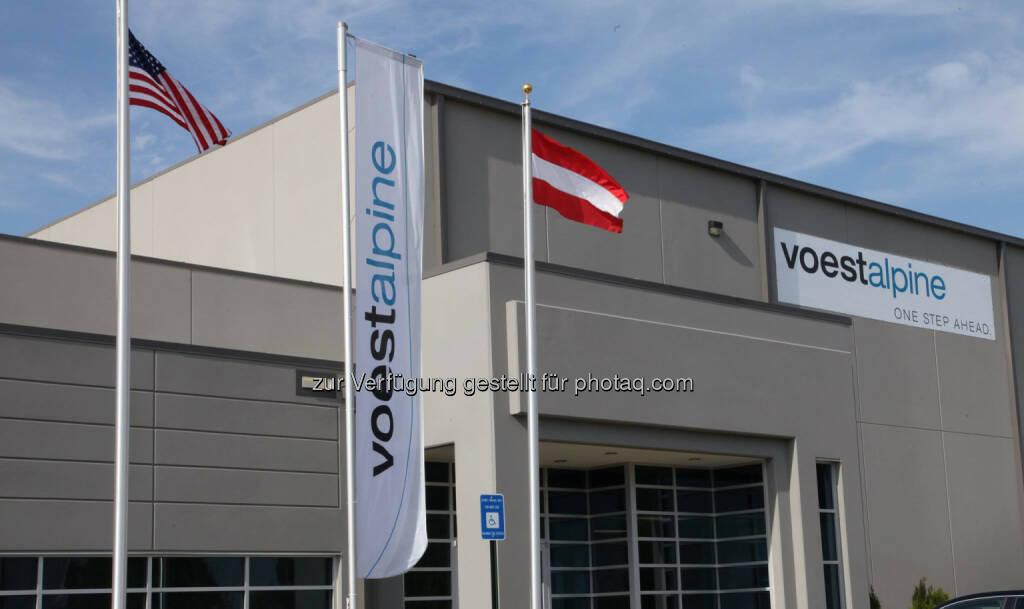 voestalpine Automotive Body Party Inc., Georgia, USA, © voestalpine (23.04.2014)