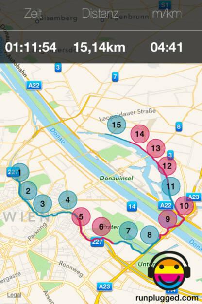 15km Lauf by Christian Drastil (27.04.2014)
