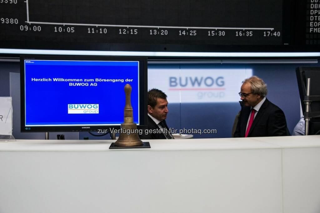 Buwog, Glocke, © Immofinanz (29.04.2014)