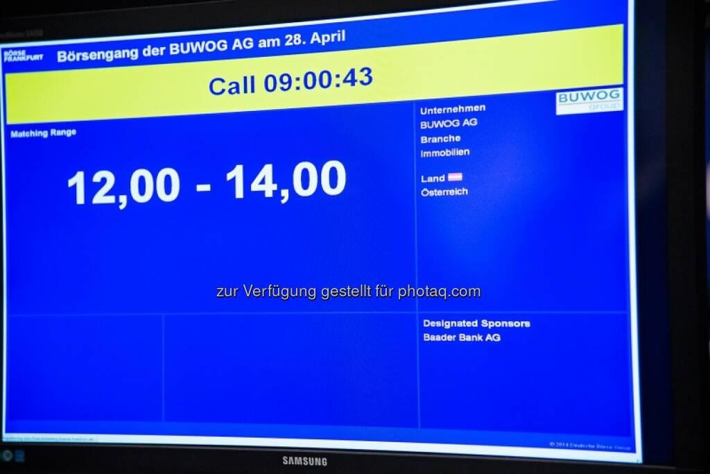 Börsengang der Buwog, 12 - 14, © Immofinanz (29.04.2014)