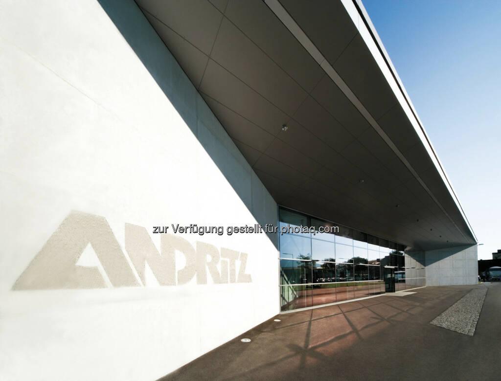 Andritz AG, (C) Croce&Wir, Mantscha 160, 8052 Graz - Austria, © Andritz Homepage (20.12.2012)