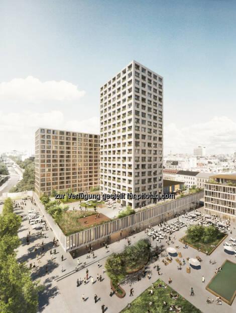 WertInvest Hotelbetriebs GmbH: Neugestaltung des Areals Hotel InterContinental Wien / Eislaufverein / Konzerthaus (05.05.2014)