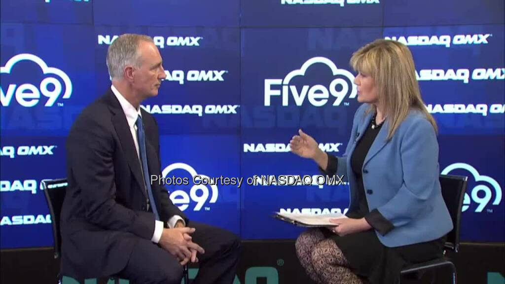 NASDAQ OMX CEO Signature Series Interview with Five9_Inc CEO Mike Burkland Source: http://facebook.com/NASDAQ (05.05.2014)