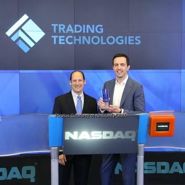 Trading Technologies Nasdaq Opening Bell Source: http://facebook.com/NASDAQ (07.05.2014)