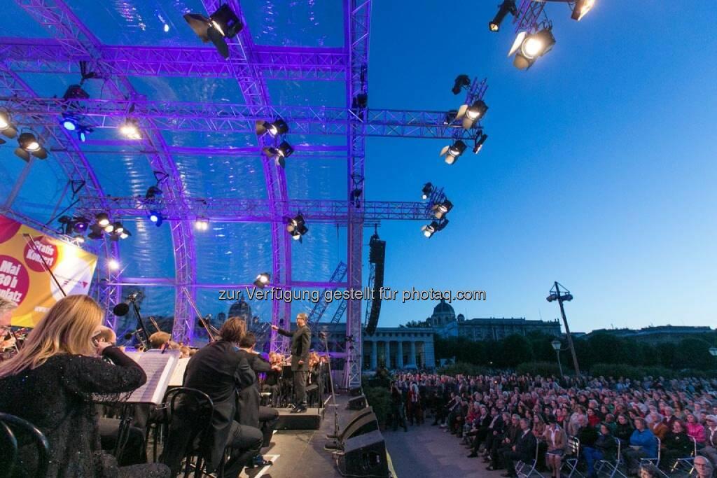 Bühne, Fest der Freude 2014, © Martina Draper für Wiener Symphoniker (09.05.2014)