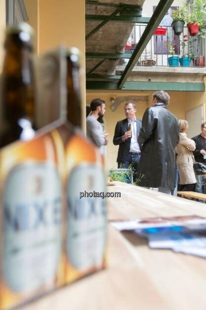 Artur Zolkiewicz (Nixe), Wolfgang Siegl-Cachedenier (startupps.net), © finanzmarktfoto.at/Martina Draper (15.05.2014)