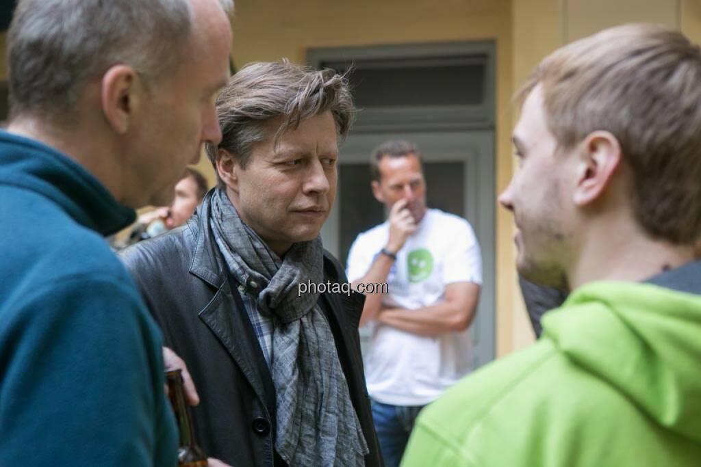 Christian Drastil, Robert Gillinger (Börse Express), © finanzmarktfoto.at/Martina Draper (15.05.2014)