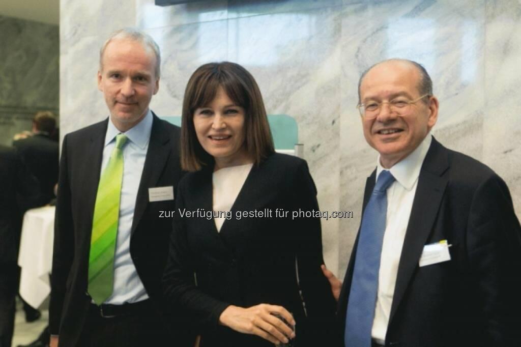 Christian Drastil (Börse Social Network), Birgit Kuras (Wiener Börse), Michael Spiss (RCB), © Martina Draper für Börse Express (16.05.2014)