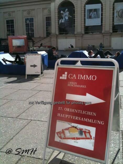 Michael Fischer: CA-Immo-HV Donnerstag 8.5.2014, Museumsquartier. Über dieses Buffet schreibt sogar der Börsenkurier, der sich geschworen hat, nicht mehr über HV-Buffets zu schreiben (17.05.2014)