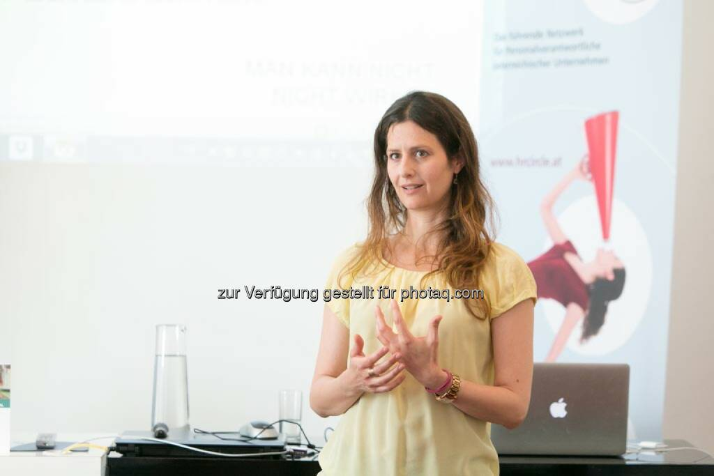 Daniela Zeller, © Martina Draper für HR Circle (20.05.2014)