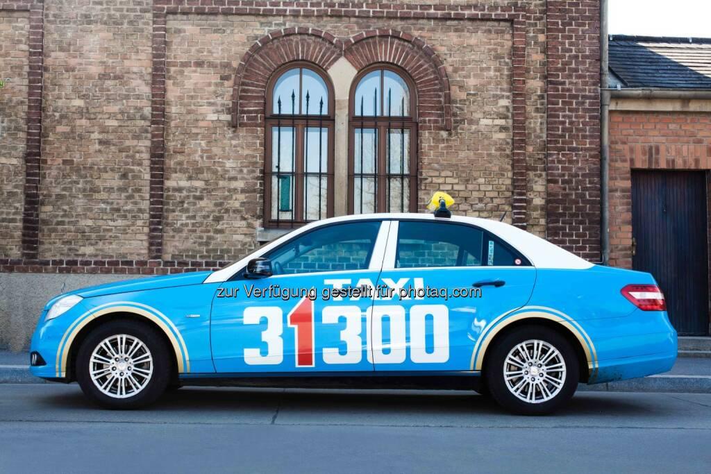 Projekt E-Taxi für Wien - Forschungsprojekt elektrisch betriebener Taxiflotte läuft - Taxi 31300 unterstützt als Projektpartner die Realisierung (Bild: Taxi 31300) (20.05.2014)