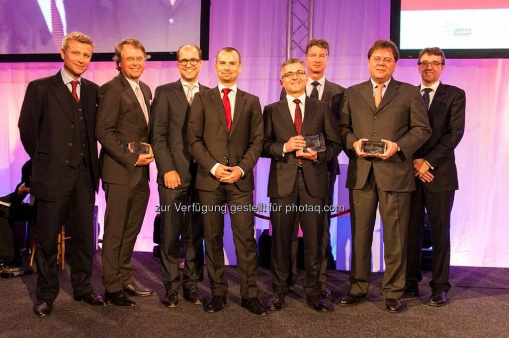 voestalpine doppelter Sieger beim Wiener Börse Preis: Neben dem #ATX-Preis, erhielt der voestalpine-Konzern auch den erstmalig verliehenen #Journalistenpreis. http://bit.ly/1k7v6B8  Source: http://facebook.com/voestalpine, © Aussendung (22.05.2014)