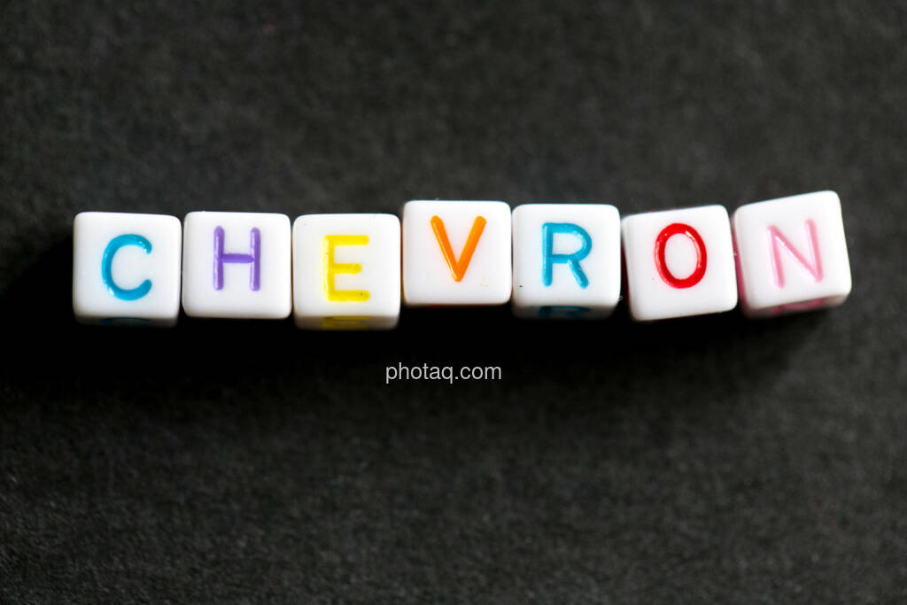 Chevron, © finanzmarktfoto.at/Martina Draper (27.05.2014)