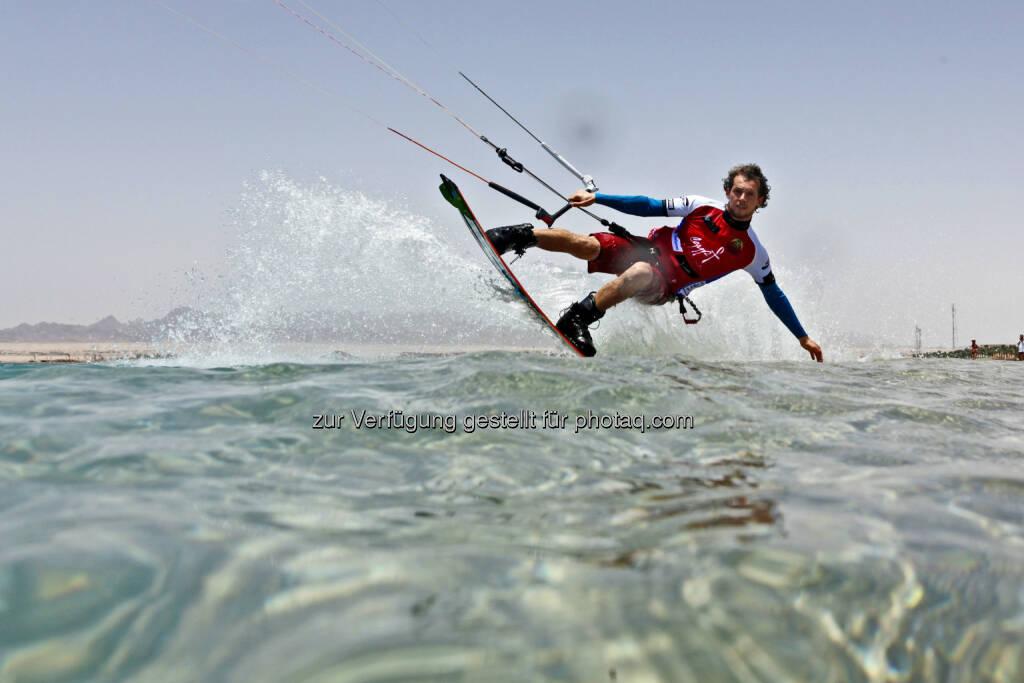 Mario Rodwald (D) beim Red Sea Kitesurf World Cup (28. Mai bis zum 1. Juni ) (Bild: Hoch Zwei / Juergen Tap) (30.05.2014)