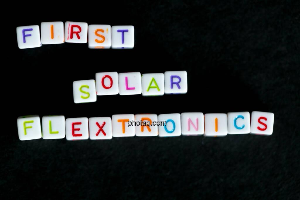 First Solar Flextronics, © finanzmarktfoto.at/Martina Draper (01.06.2014)