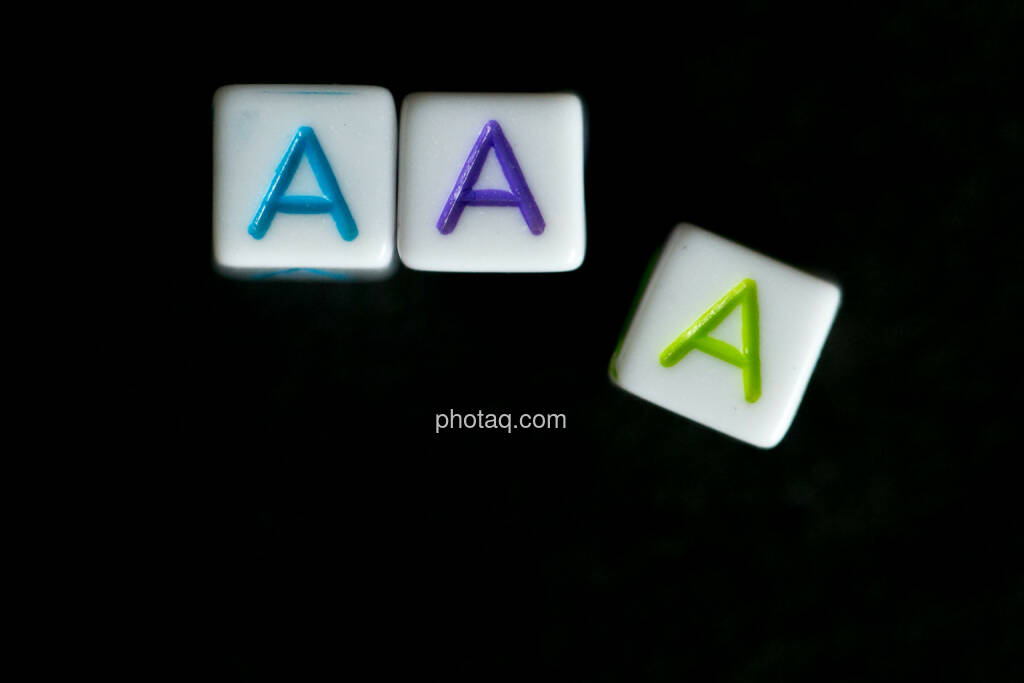 AAA, Triple A, © finanzmarktfoto.at/Martina Draper (01.06.2014)