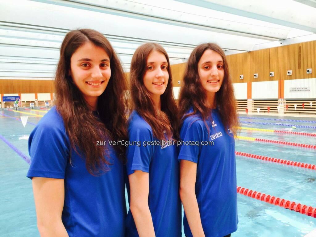 Dem im Jahr 2012 gestellten Antrag auf Einbürgerung der griechischen Schwestern von Anna-Maria, Vasiliki-Pagona und Eirini-Marina Alexandri wurde rechtzeitig vor der Junioren-WM stattgegeben. es handelt sich um sehr talentierte Synchronschwimmerinnen und große Nachwuchshoffnungen. (03.06.2014)