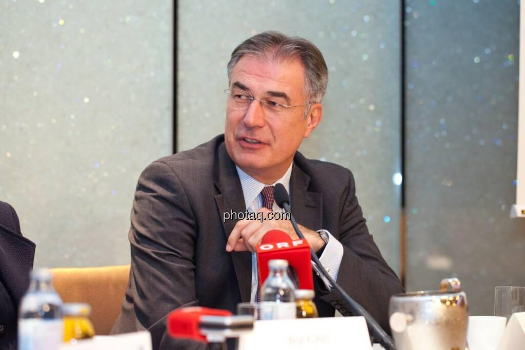 Friedrich Mostböck (Erste Group) , © photaq/Michi Mejta (04.06.2014)