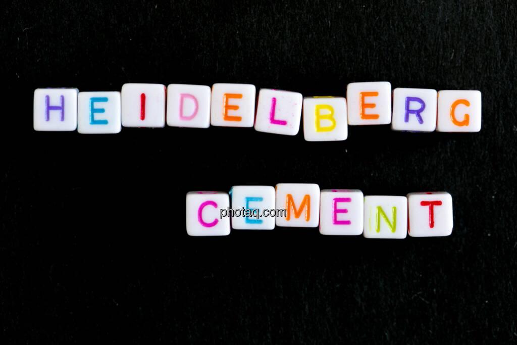 Heidelberg Cement, © finanzmarktfoto.at/Martina Draper (09.06.2014)