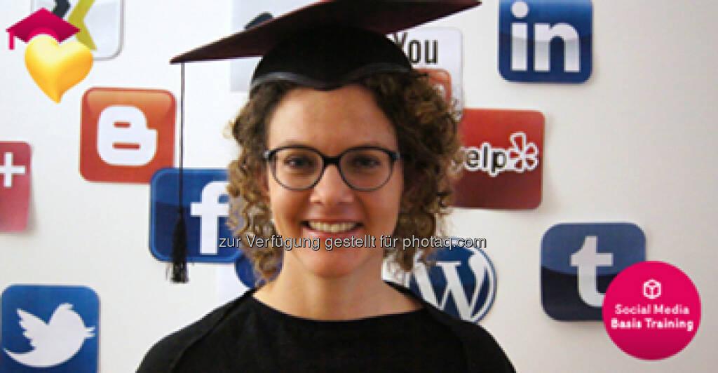 Akademie, Lernen: Sabine Hoffmann mit der http://www.ambuzzador.com/academy/, © Aussendung (10.06.2014)
