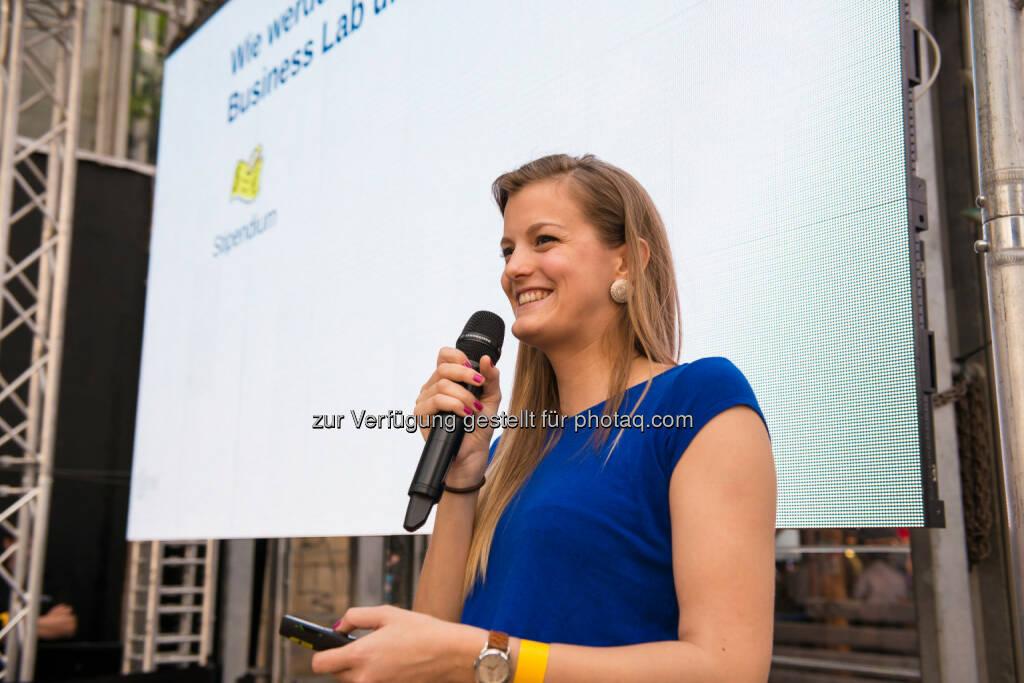 Clarissa Lehner, BA, Programmleiterin aws First Austria Wirtschaftsservice: Selbständigkeit wird wieder zur Berufsoption (c) aws (11.06.2014)