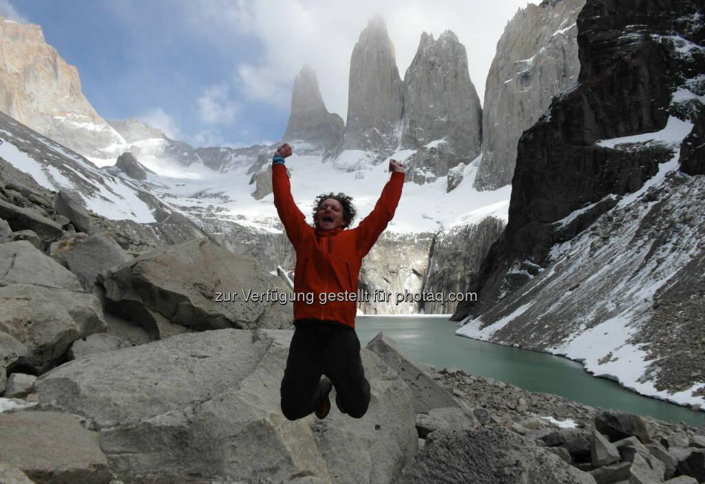 Andreas Posavac, Ipreo: Raus in die Natur! Das hilft in jeder Boersenlandschaft :-) (@Torres Del Paine), © beigestellt (30.12.2012)