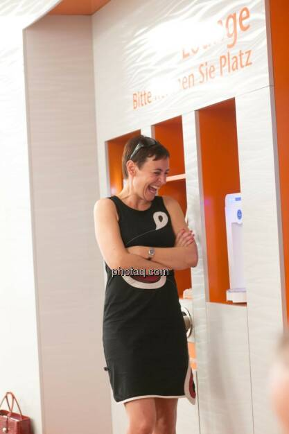 Andrea Hansal (Head of Corporate Communications ING-DiBa Direktbank Austria), © photeq/Martina Draper (12.06.2014)