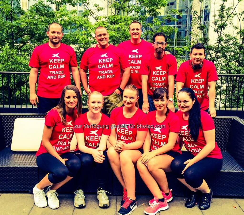XTB - Keep calm - trade & run. Das Team von XTB wünscht allen Teilnehmern beim J.P. Morgan Lauf viel Erfolg! Wir sehen uns im Ziel...  Source: http://twitter.com/xtbde (12.06.2014)