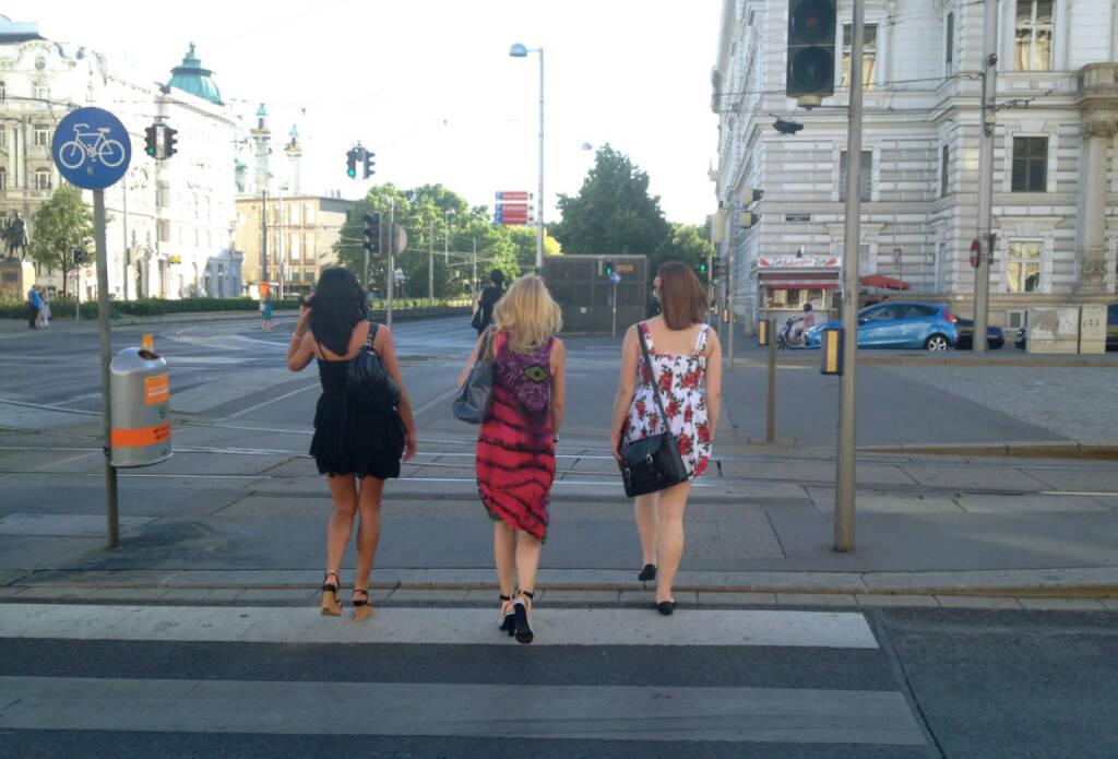 Zebrastreifen Strasse (12.06.2014)