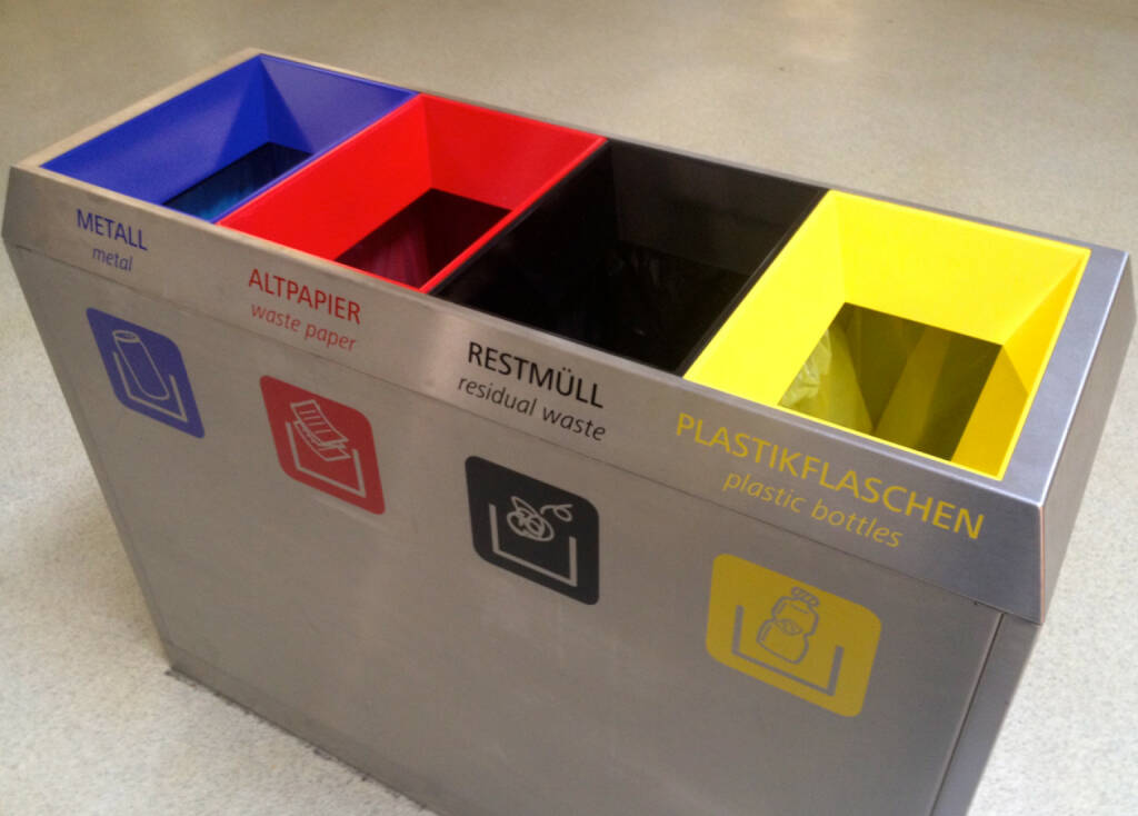 Müll: Metall, Altpapier, Restmüll, Plastikflaschen (12.06.2014)