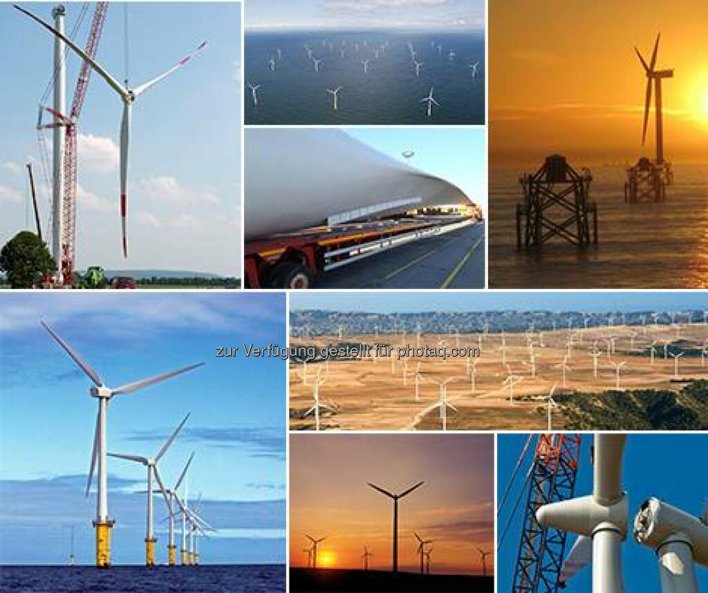 RWE: Zum GlobalWindDay am Sonntag hier eine Collage unserer schönsten Windenergie-Fotos. Wir wünschen allen Kollegen, die in der Windkraft arbeiten, kräftigen Rückenwind!  Source: http://facebook.com/vorweggehen (15.06.2014)