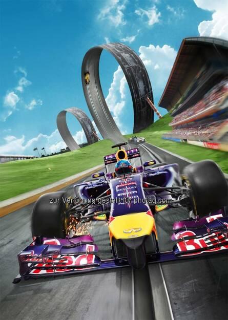 voestalpine: Update des Red Bull Racers Games mit dem neuen Red Bul Ring - mit dabei natürlich auch der voestalpine wing   Source: http://facebook.com/voestalpine (16.06.2014)