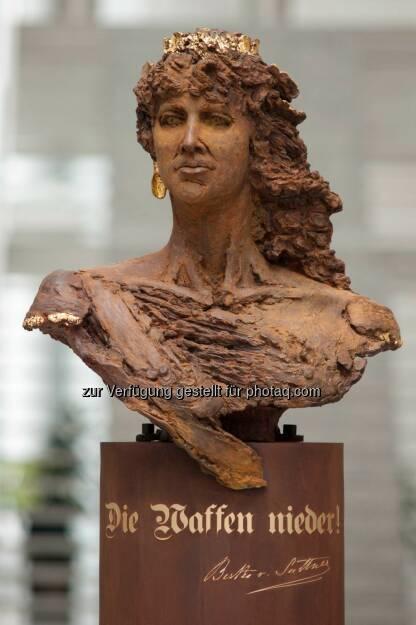 Die Waffen Nieder, Friede - Peace Museum Vienna - Friedensmuseum Wien: Fenster für den Frieden - Friedens Museum Wien (16.06.2014)