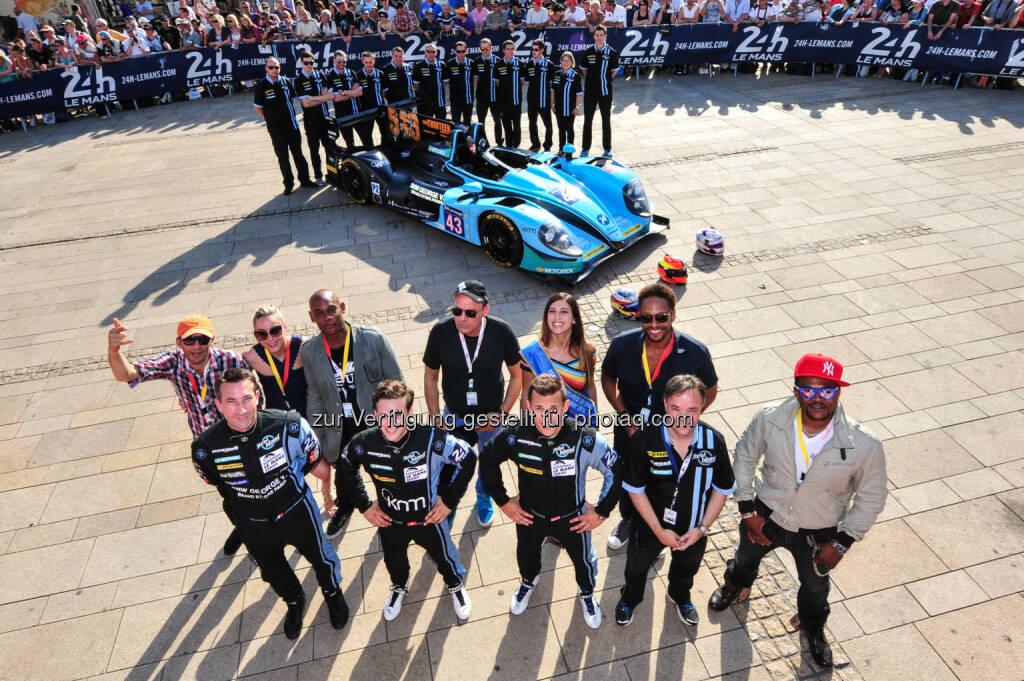 Team New Blood - Le Mans 2014 - Puls 4 sucht gemeinsam mit Christian Klien das größte Rennfahrer-Talent (Bild: Puls4) (17.06.2014)