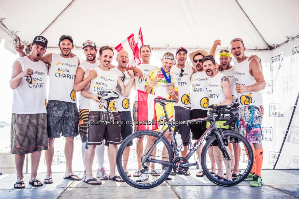 Lyoness Europe AG: Strasser brannte Rekorde in den Asphalt des Race Across America 2014 (Karelly) (18.06.2014)