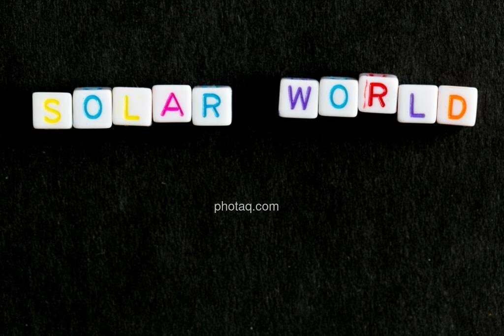 Solar World, © finanzmarktfoto.at/Martina Draper (21.06.2014)