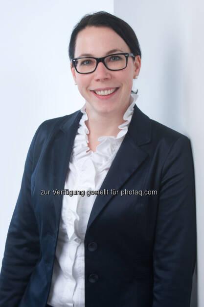 Sandra Marchhart, Ecovis, agiert als Ansprechpartnerinnen für alle steuerlichen Anfragen nach Übernahme der Kanzlei Dr. Helga Strauss-Günters durch Ecovis (02.01.2013)
