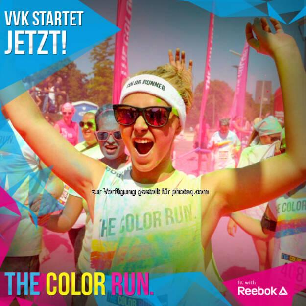 The Color Run™ kommt nach Österreich - auf die Magna Racino in Ebreichsdorf. http://thecolorrun.at/de/locations/wien.html (21.06.2014)