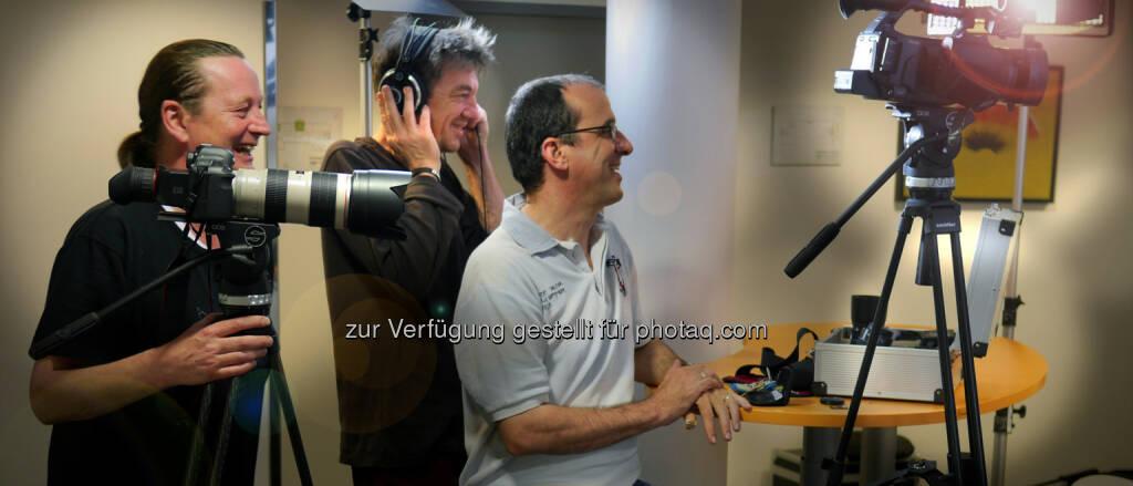 TÜV Austria Media: 100.000 You Tube-Aufrufe - ORF-Regisseur und Drehbuchautor Rainer Hackstock, Georg Trummer, Schnitt, Andreas Amsüss, Photograph und TV-Kameramann. (23.06.2014)