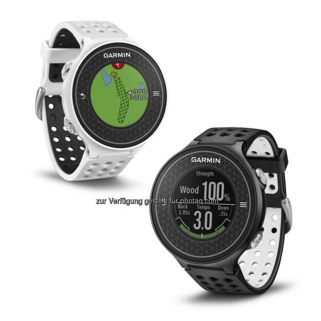 Garmin Approach S6. GPS-Golfuhr mit integriertem Schwungtrainer und vollständiger Platzabbildung. (23.06.2014)