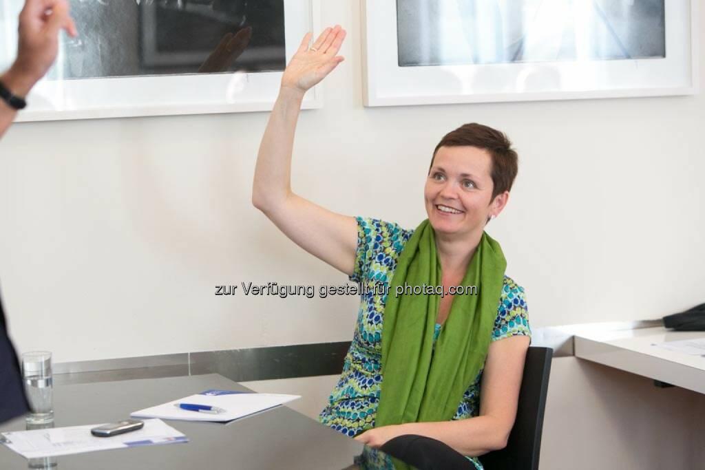 Cornelia Dankl (Obfrau HR-Circle), © Martina Draper für HR Circle (23.06.2014)