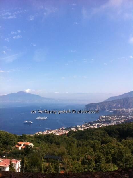 Elisabeth Wagerer, S Immo: Amalfi Küste im September 2012 - das Schönste im Leben sind die Pausen, © beigestellt (03.01.2013)