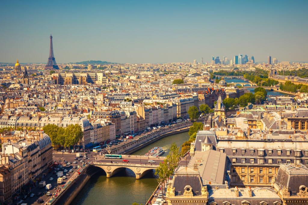 Paris, Eiffelturm, Seine, Frankreich http://www.shutterstock.com/de/pic-113654788/stock-photo-view-on-paris-form-notre-dame-cathedral.html (Bild: www.shutterstock.com), © shutterstock.com (28.06.2014)