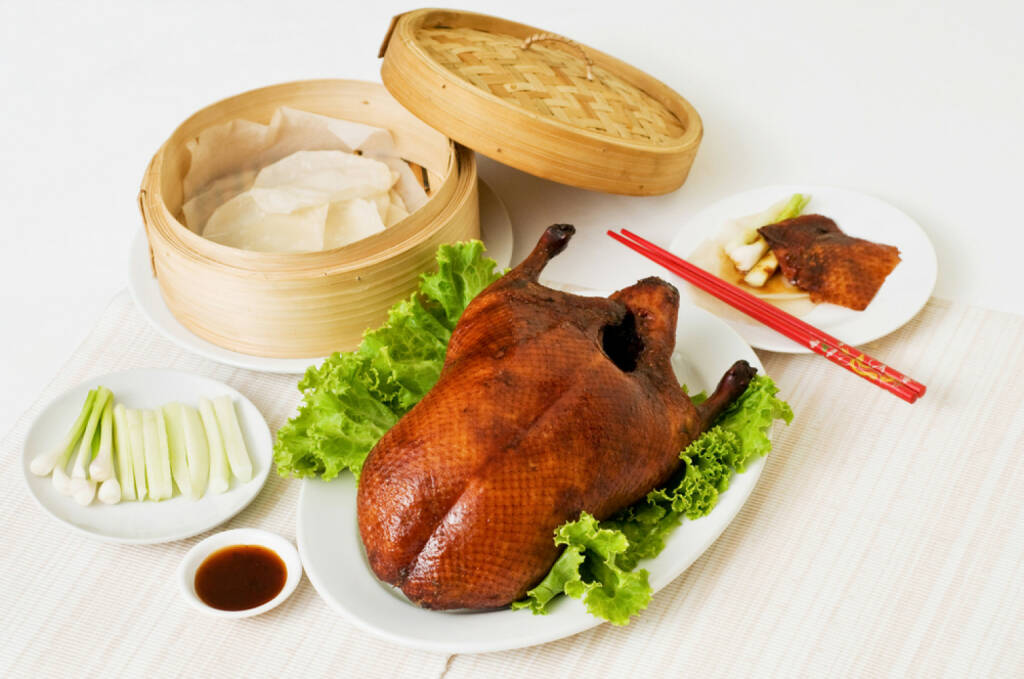 Peking Ente, China, http://www.shutterstock.com/de/pic-113183161/stock-photo-peking-duck-set.html , © (www.shutterstock.com) (30.06.2014)