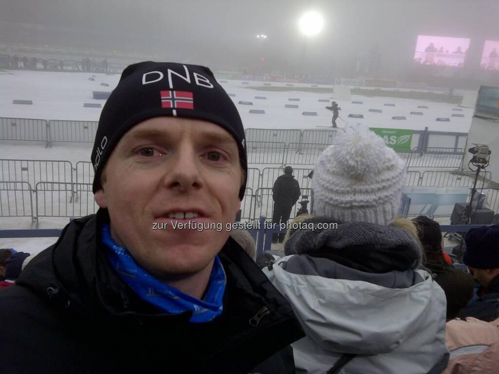 Jänner: Christian-Hendrik Knappe, db-X markets, beim Biathlon-Weltcup in Oberhof (06.01.2013)