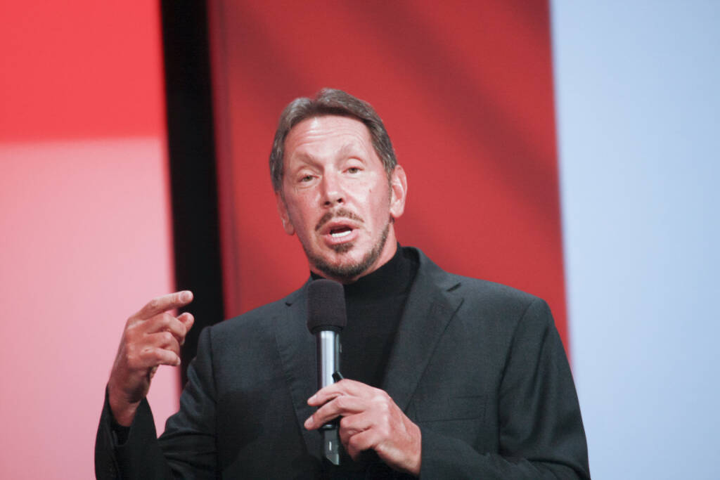 Larry Ellison, CEO, Oracle (Bild: <a href=http://www.shutterstock.com/gallery-118558p1.html?cr=00&pl=edit-00>drserg</a> / <a href=http://www.shutterstock.com/?cr=00&pl=edit-00>Shutterstock.com</a>) (06.07.2014)