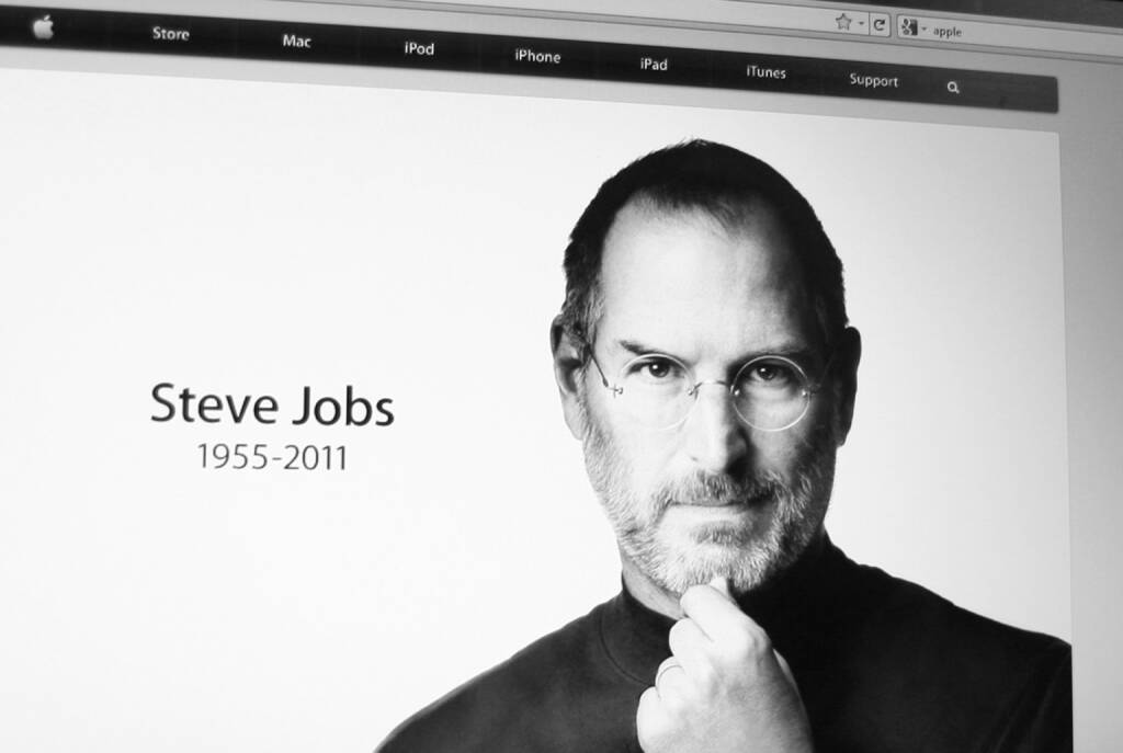 Steve Jobs, Apple, <a href=http://www.shutterstock.com/gallery-79405p1.html?cr=00&pl=edit-00>Annette Shaff</a> / <a href=http://www.shutterstock.com/?cr=00&pl=edit-00>Shutterstock.com</a> (06.07.2014)