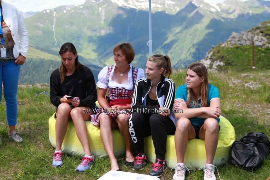 Flavia Pannetta, Yvonne Meusburger, Lisa-Maria Moser, Yvonne Neuwirth (06.07.2014)