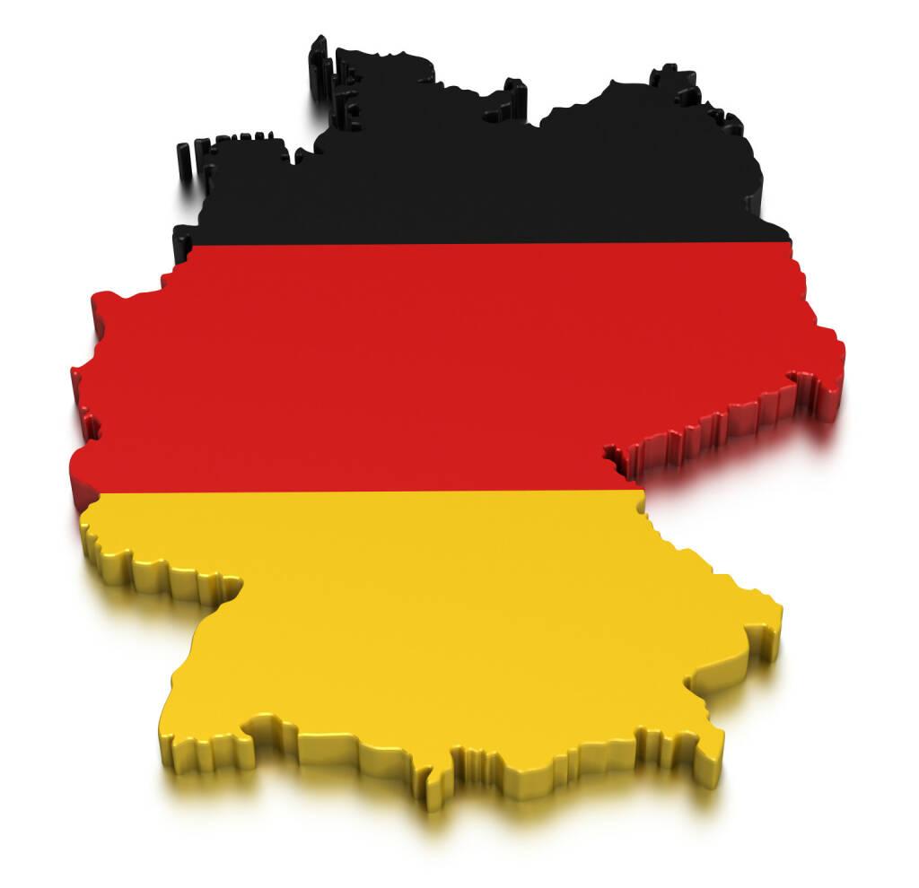 Deutschland, Schwarz, Rot, Gold, Landkarte, http://www.shutterstock.com/de/pic-159602426/stock-photo-germany.html (Bild: shutterstock.com) (09.07.2014)