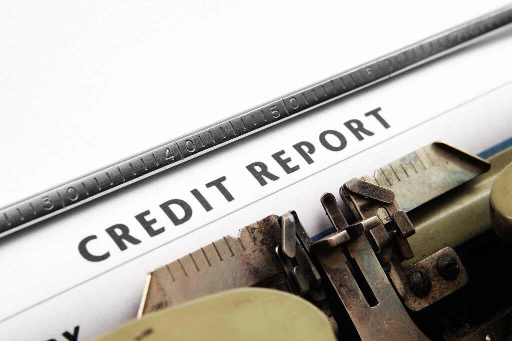 Credit Report, Schreibmaschine, http://www.shutterstock.com/de/pic-122983663/stock-photo-credit-report.html (Bild: shutterstock.com) (09.07.2014)